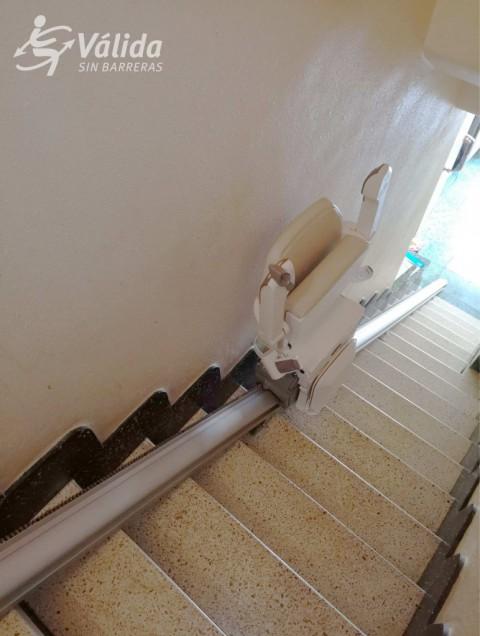 cadira salvaescales per persones amb discapacitat o mobilitat reduïda