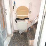 cadira plegable i giratoria per a suprimir desnivells verticals a València