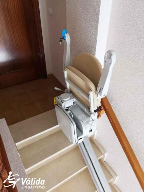 Cadira per discapacitats Villanueva de Alcolea Castellón pujar escales