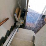 instal·lació cadira pujaescales segura práctica comfortable discapacitat
