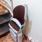 instal·lació cadira salvaescales Segovia SOCIUS