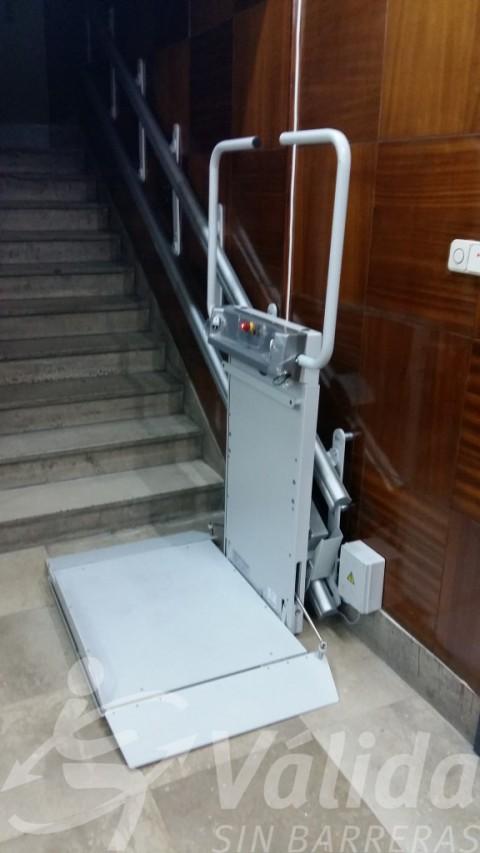 Escales rectes accessibles gràcies a la plataforma salvaescales Spatium