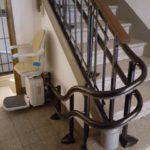 Salvaescales persones grans pujar i baixar escales Badalona