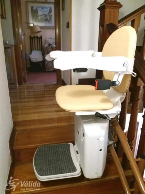 Cadira plegable per a persones amb mobilitat reduïda a Madrid