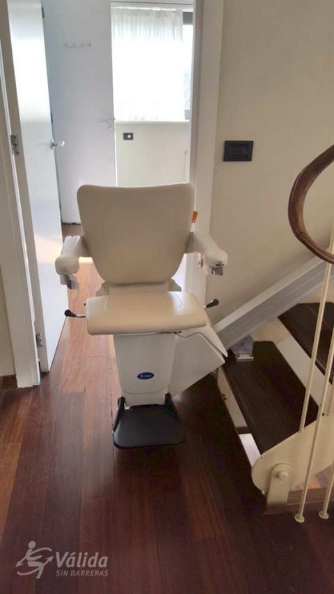 Cadira salvaescales ALIUM instal·lada a casa particular de Sant Cugat del Vallés, Barcelona