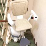 Cadira salvaescales Unika instal·lada a casa particular de Santander a Cantabria