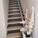 Cadira salvaescales alium per persones de la tercera edat