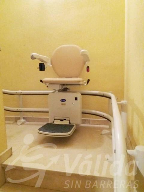 cadira pujaescales accessibilitat pis mejorada del campo madrid