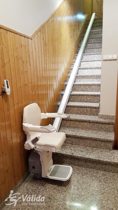 cadira salvaescales per a tram recte segures i fiables accessibilitat