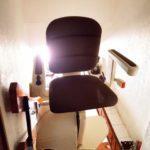 Cadira salvaescales còmoda i segura en casa particular Barcelona Hospitalet de Llobregat