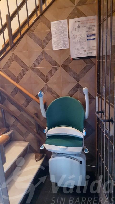Cadira Socius color verd Jade en Barcelona comunitat de veïns