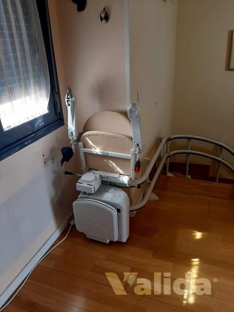 Cadira salvaescaleras Socius per personas amb problemes de mobilitat