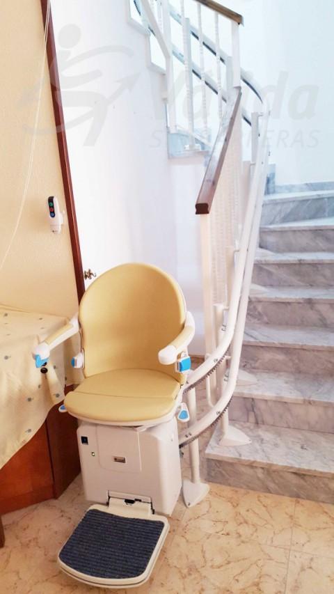 Cadira salvaescales instal·lar Abrera Barcelona
