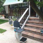 Montaje de solución mecánica para suprimir las barreras arquitectónicas del entorno