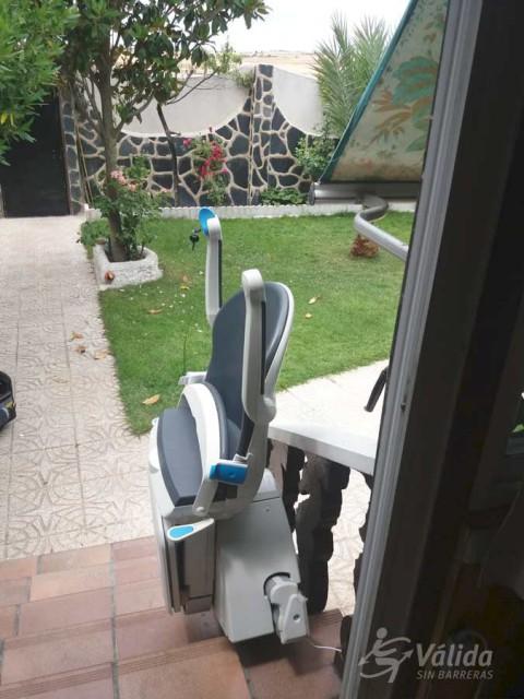 Instalar una ayuda técnica para mejorar la accesibilidad en intemperie en Illescas