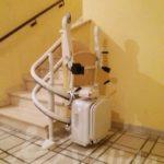 cadira elevadora per pujar escales comunitat veins mejorada del campo madrid