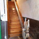 Pujar i baixar escales amb un pujaescales de Válida sin barreras a Lantz