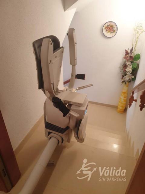 Cadira salvaescales UNIKA per casa particular de El Vendrell