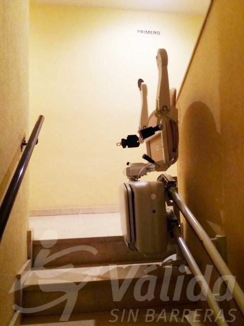 cadira salvaescales elevació pujar escales mejorada del campo madrid
