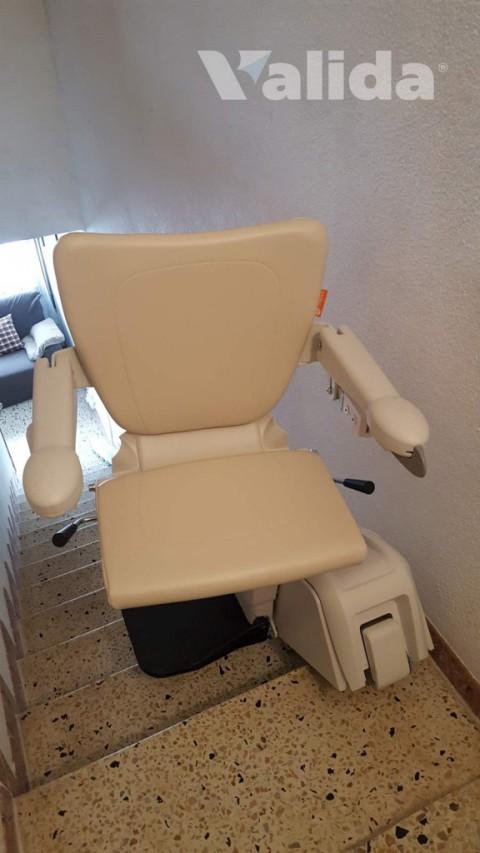 Cadira salvaescales Alium per personas amb mobilitat reduïda a Artés