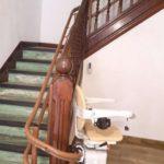 Cadira salvaescales SOCIUS instal·lada a casa particular de Mundaka a Vizkaya