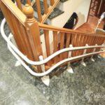 Pujar i baixar escales amb una ajuda tècnica de Válida sin barreras a Palencia