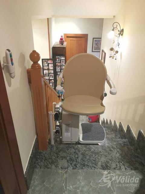 Solució elevadora per persones amb mobilitat reduïda o discapacitat