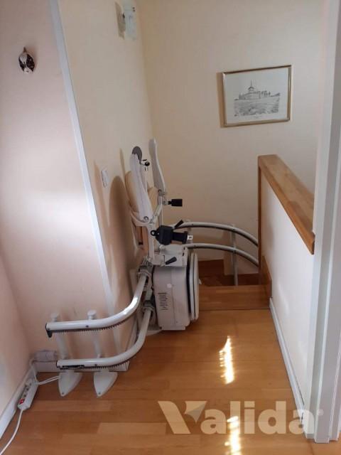 Cadira salvaescales per casa particular a l'Escorial
