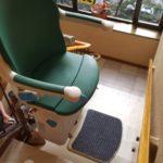Salvaescales cadira model socius de Válida sin barreras intal·lada a Barcelona