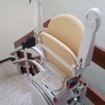 seient abatible cadira per pujar escales corbes