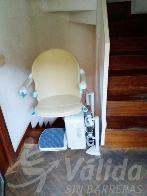 Cadira salvaescales interior pujar escales còmoda segura Las Rozas Madrid