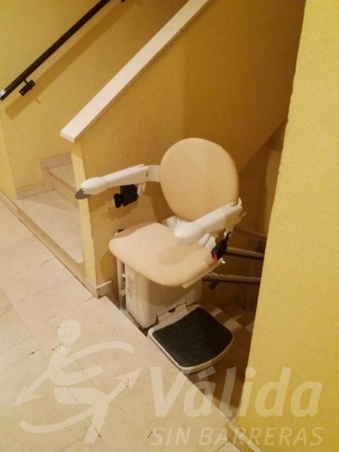 cadira salvaescales mejorada del campo madrid válida sin barreras