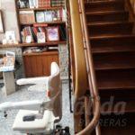 cadira salvaescales pujar i baixar escales Barcelona còmoda Socius