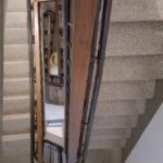 Cadira pujaescales corbes interior o intemperie Badalona