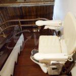 cadira per pujar escales interior Barcelona accessibilitat llar Socius