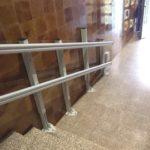 pujar i baixar escales amb la plataforma SPATIUM per millorar l'accesibilitat