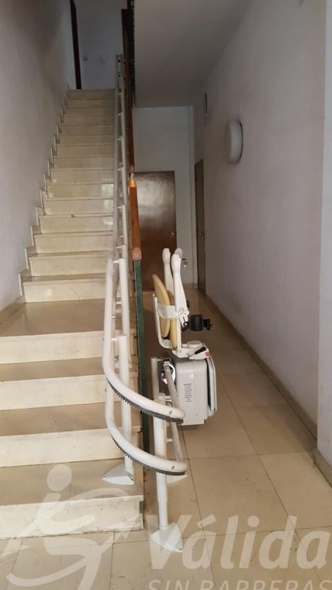 Cadira Socius amb Simplicity a La Garriga i guia corba amb aparcament cadira