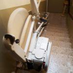 Cadira pujaescales Socius de Válida a Peralada Girona plegada