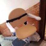 Pujai baixa escales rectes amb cadires pujaescales Fidus a Barcelona