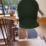 Cadira pujaescales per a superar escales a Comunitat de veïns de Madrid