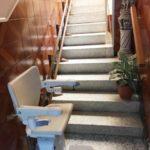 instal·lació de cadira pujaescales a casa particular de Torelló a Barcelona