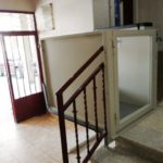 instal·lació de minielevador a comunitat de veïns de Zamora