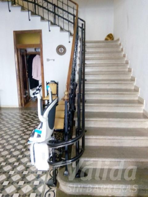 Cadira salvaescales preu Zamora Toro instal·lació pujaescales Catella i Lleó