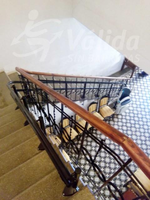 Cadira per pujar escales accessibilitat Toro Zamora  Castilla y León