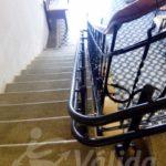 Zamora Castilla y León Toro salvaescaleras en hotel mobilitat reduïda