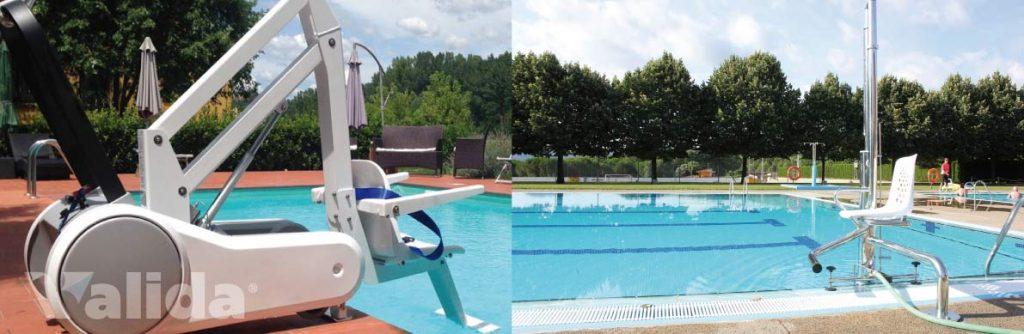 Elevadors per a piscines
