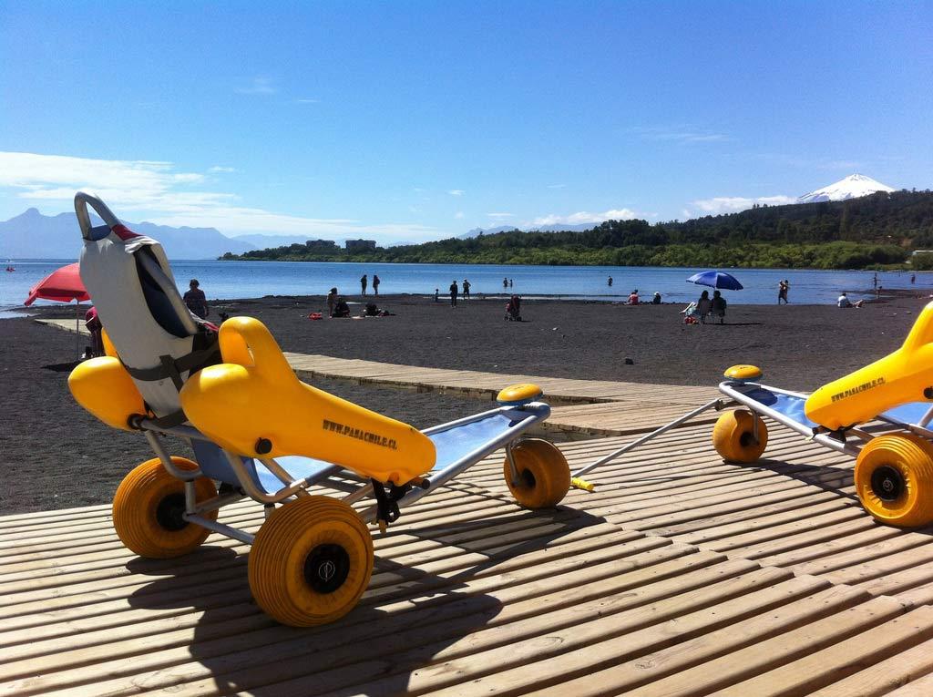 Platges accessibles per a persones amb cadira de rodes