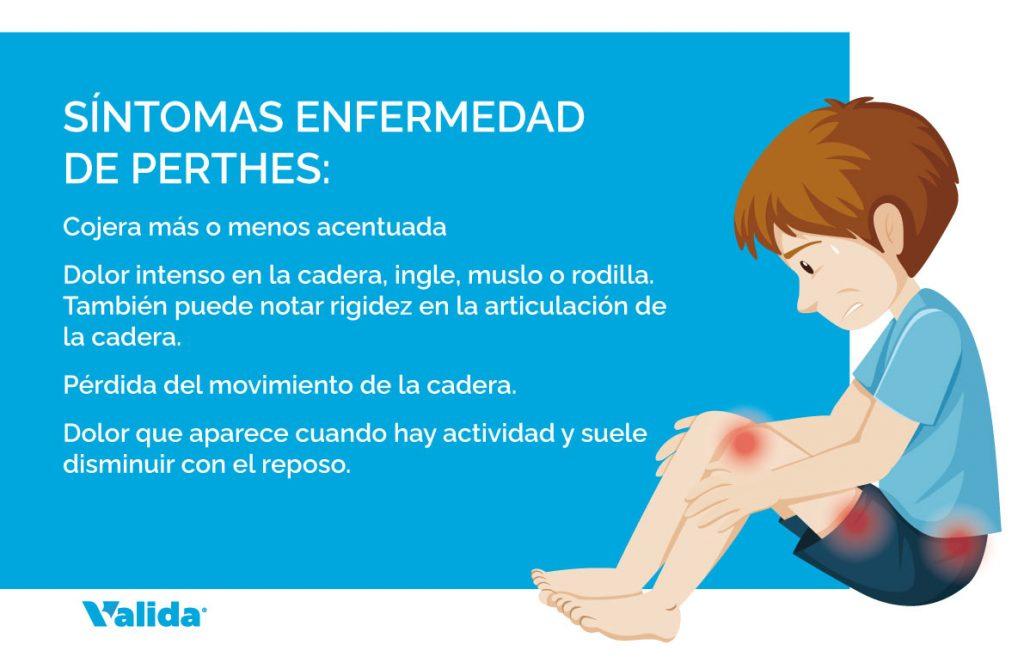 Símptomes de la malalatia de Perthes